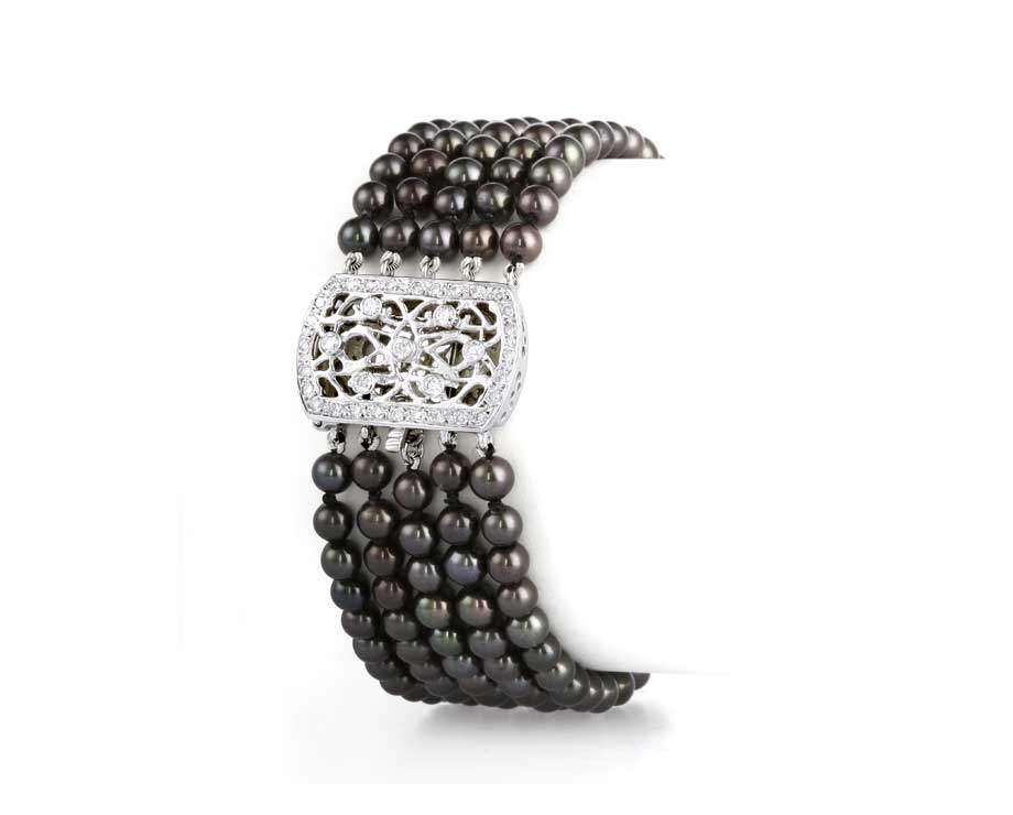 Black-Beauty-Pearl-Bracelet